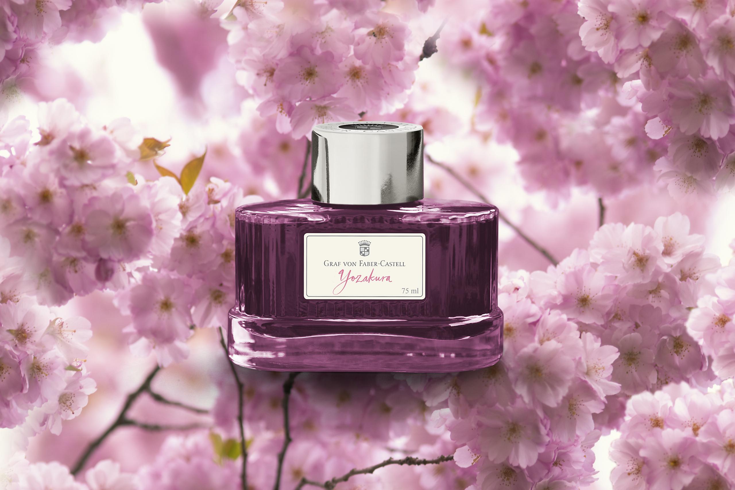 Atrament Graf von Faber-Castell i tradycja kwiatu kwitnącej wiśni