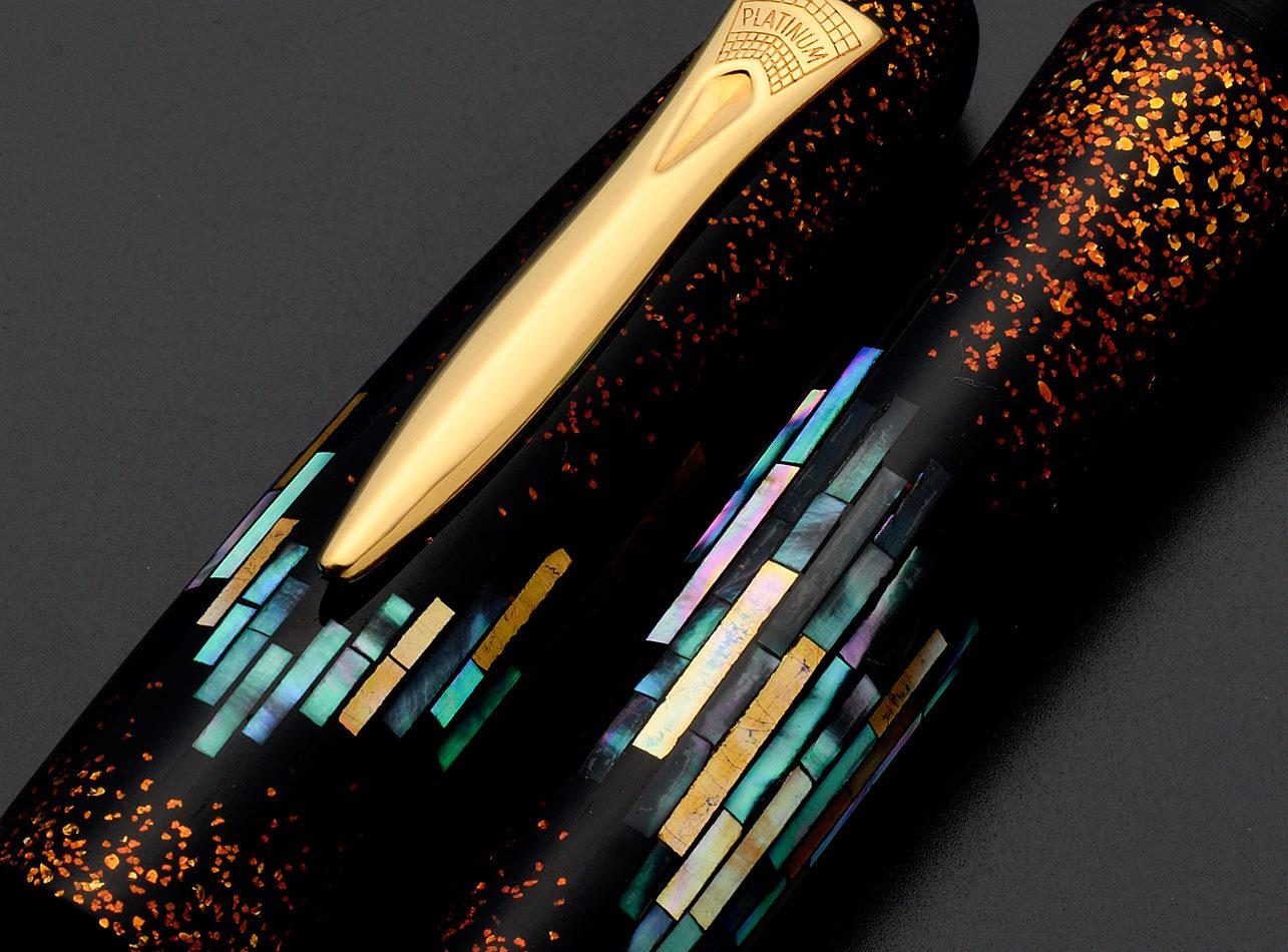 Pióra wieczne Platinum Izumo - sztuka użytkowa